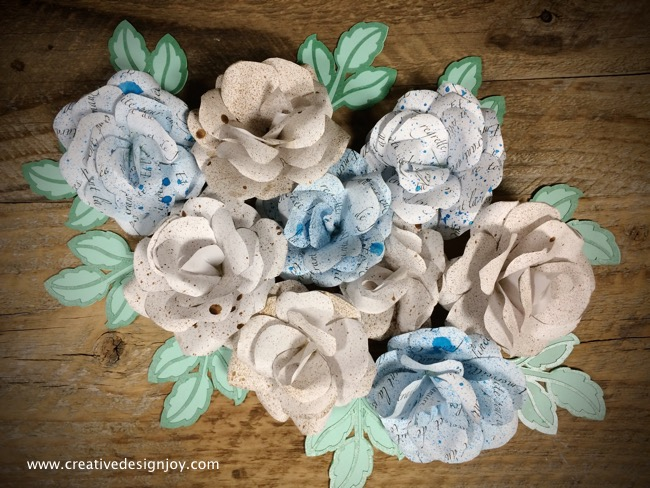 DIY Paper Roses Tutorial