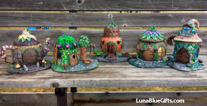 Creative fairy house designs