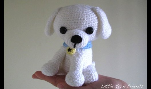 Crochet puppy doll