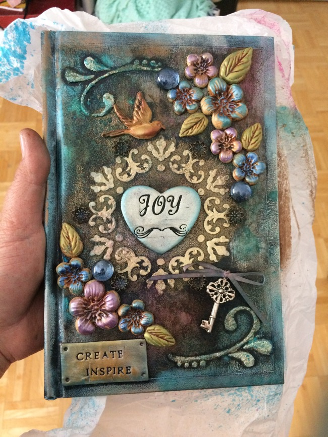 mixed media journal tutorial