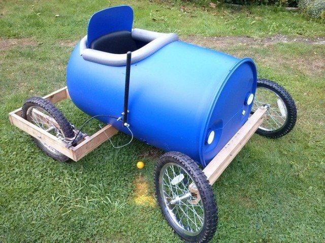 Barrel Derby Cart For Kids