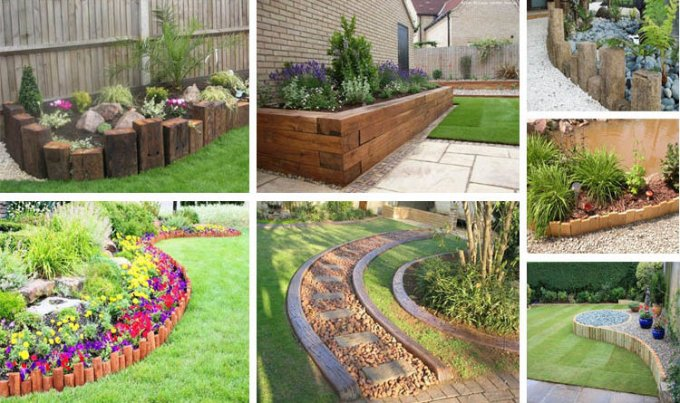 Creative Garden Ideas Creative garden edging ideas creative design creative garden edging ideas workwithnaturefo